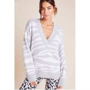 ANTHROPOLOGIE Varley Calvert V-neck Sweater